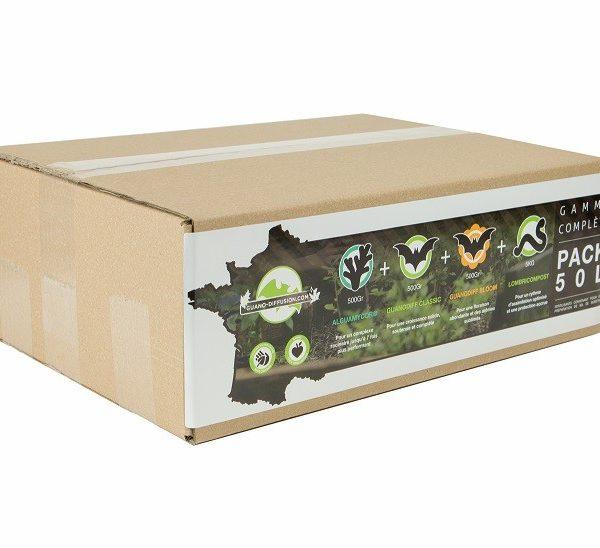 Pack engrais One Plant - pour 8L - GUANO DIFFUSION
