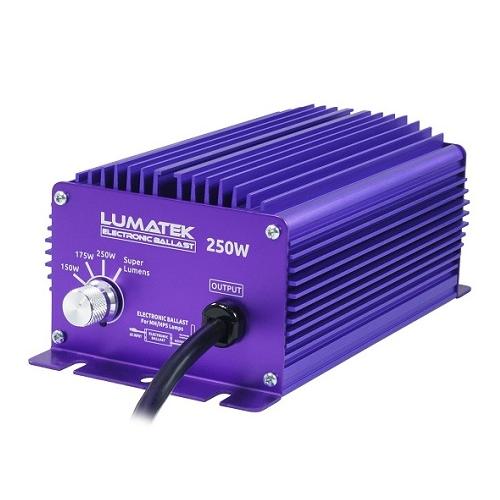 Ballast électronique 250W avec Switch aevc mode Super Lumens - LUMATEK