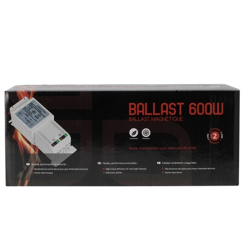 BALLAST MAGNETIQUE COMPACT 600W PACKAGE FLORASTAR