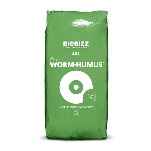 WORM HUMUS - lombricompost BIOBIZZ utilisable en agriculture biologique