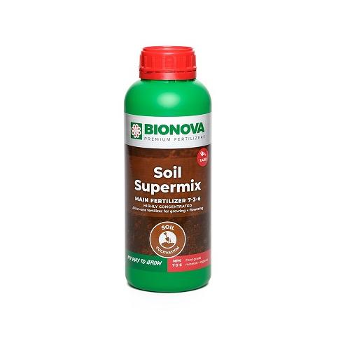 BIONOVA SOIL SUPERMIX 1L - engrais liquide concentré pour culture en sol