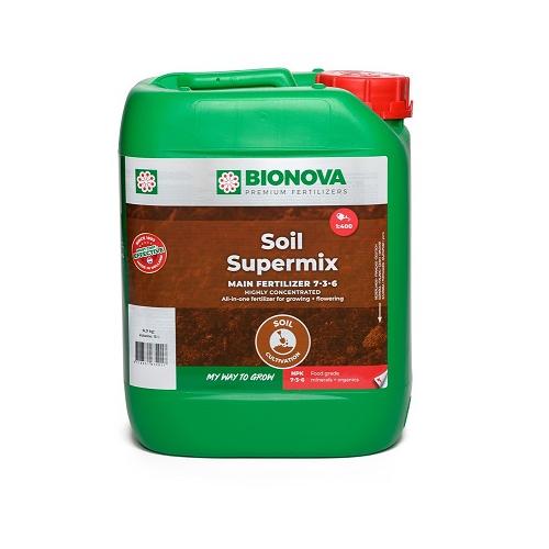 BIONOVA SOIL SUPERMIX 5L - engrais liquide concentré pour culture en sol