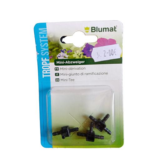 Dérivation T 3mm Blumat - Pack de 3