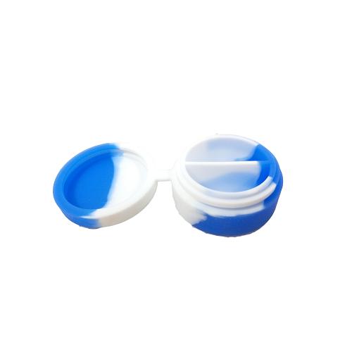 BOITE SILICONE DOUBLE QNUBU - boîte avec deux compartiments distincts