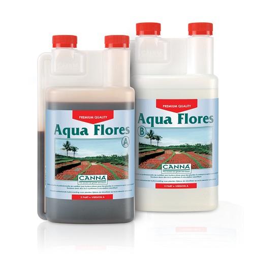 CANNA AQUA FLORES A PLUS B 1L - engrais de floraison pour cultures hydroponiques