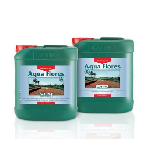 CANNA AQUA FLORES A PLUS B 5L - engrais floraison cultures hydroponiques