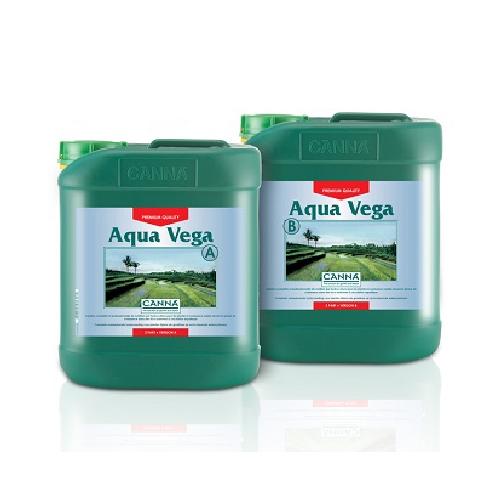 CANNA AQUA VEGA A PLUS B 5L - engrais croissance pour cultures en hydroponie système fermé