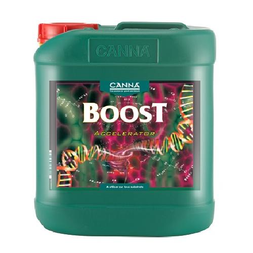 CANNA BOOST 5L - booster de floraison pour plantes à cycle rapide - tous substrats