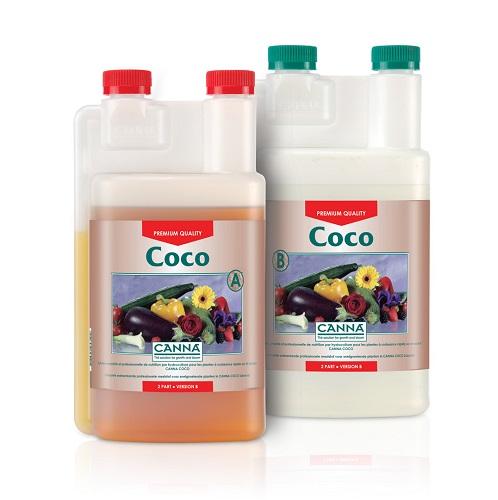CANNA COOCO A PLUS B 1L - engrais liquides pour plantes à développement rapide