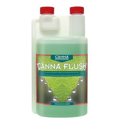 CANNA FLUSH 1L - solution de rinçage avant récolte