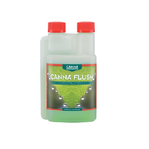 CANNA FLUSH 250ML - solution de rinçage avant récolte