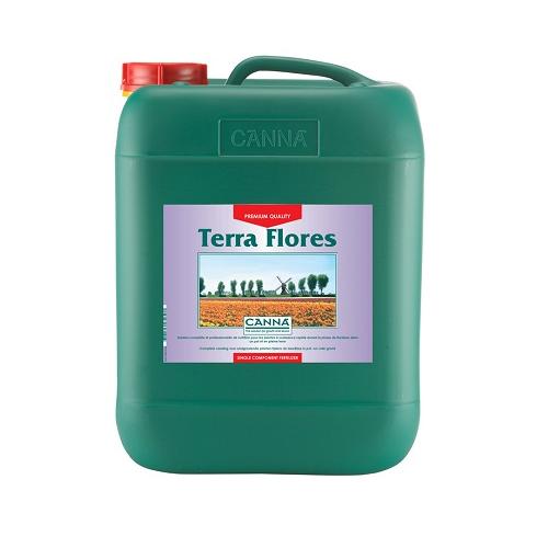 CANNA TERRA FLORES 10L - engrais floraison cultures en terre