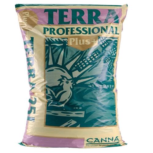 CANNA TERRA PROFESSIONAL PLUS 25L - substrat pour la culture en terre pré-fertilisé pour une semaine