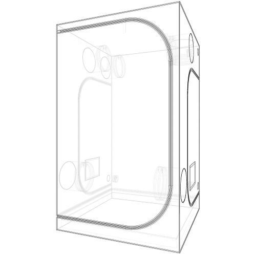 CHAMBRE DE CULTURE DARK ROOM DR120 SECRET JARDIN VUE 3D