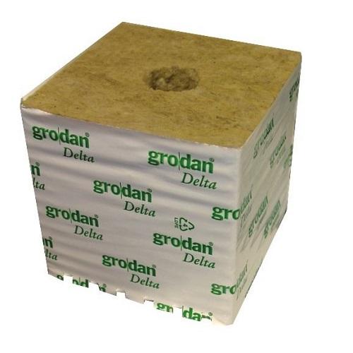 CUBE LAINE DE ROCHE GRODAN - substrat culture en hydroponie