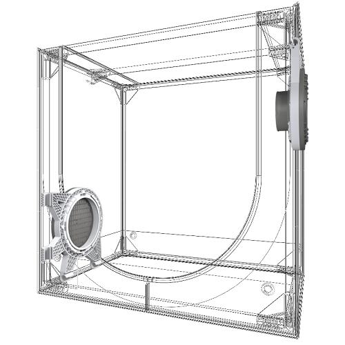 DARK PROPAGATOR SECRET JARDIN DP60 VUE 3D STRUCTURE