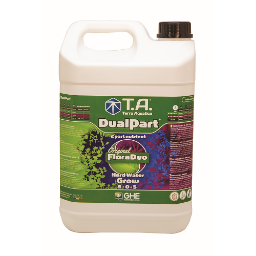 DUALPART GROW TERRA AQUATICA 5L - engrais liquide de croissance eau dure