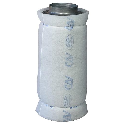Filtre à charbon actif CAN-Lite™ 600m³/h - corps métal - flanges 150mm