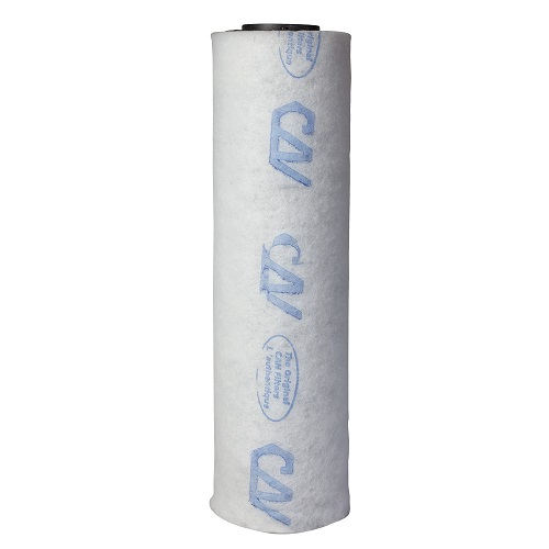 Filtre à charbon Can-Lite™ 150 m³/h - corps plastique - sans flange