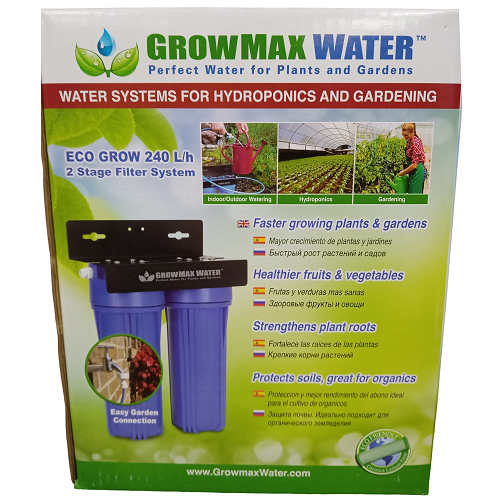 Eco Grow 240L/h Filtre Osmoseur - GROWMAX WATER