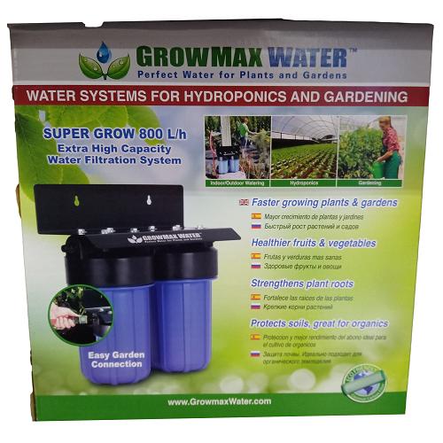 Super Grow 800L/h Filtre Osmoseur - GROWMAX WATER