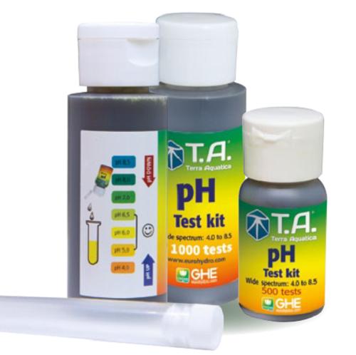 KIT TEST DE PH TERRA AQUATICA - kit pour 300 tests pH