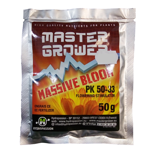 Massive Bloom 50g - booster floraison - HYDROPASSION