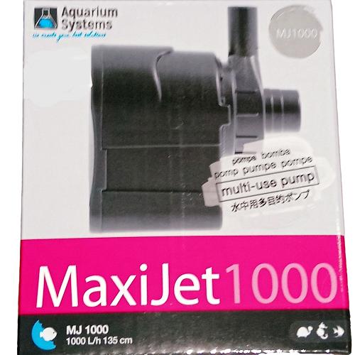 Pompe MAXIJET 1000L/h - MJ 1000 Aquarium Systems