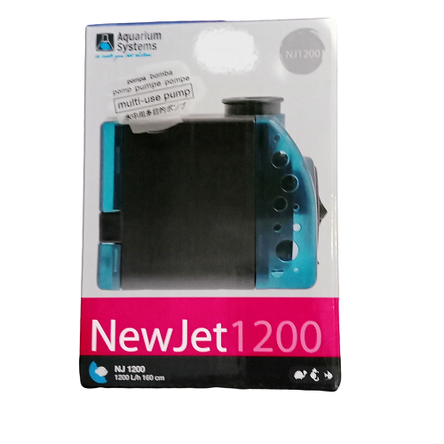 Pompe réglable NEWJET 1200L/h - NJ 1200 Aquarium Systems