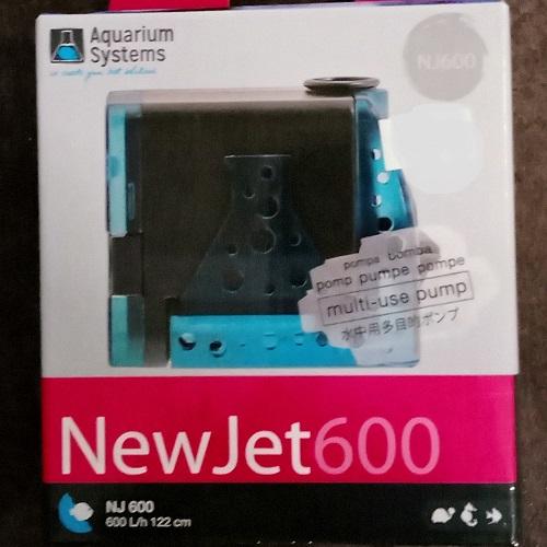 Pompe réglable NEWJET 600L/h - NJ 600 Aquarium Systems