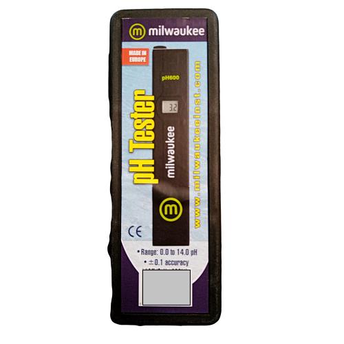 pH-mètre ECO pH600 - Milwaukee digital pH Pen