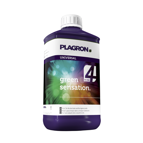 PLAGRON GREEN SENSATION 500ML - booster de floraison ultra-concentré 4 en 1