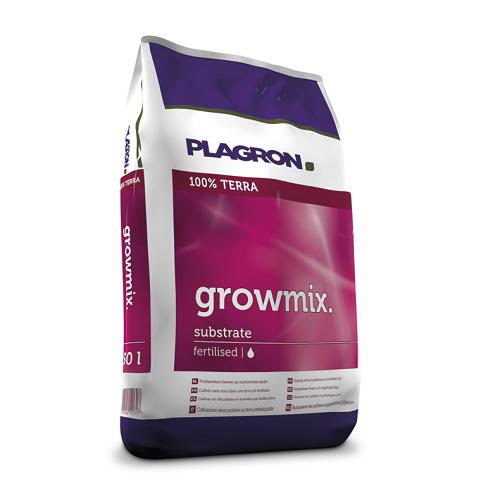 GROWMIX 50L -mélange de tourbe, perlite et vermicompost - PLAGRON