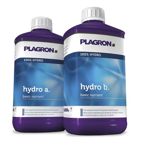 PLAGRON HYDRO A ET B 1L - duo d'engrais pour culture en hydroponie