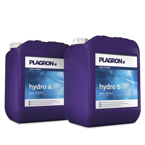 PLAGRON HYDRO A ET B 5L - engrais concentré pour culture en hydroponie