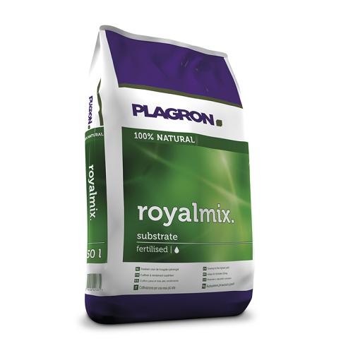 PLAGRON ROYALMIX 50L - substrat pré-fertilisé utilisable en agriculture biologique