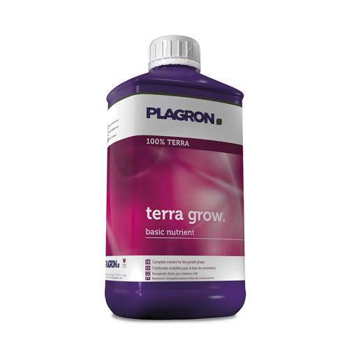 PLAGRON TERRA GROW 1L - engrais liquide de croissance pour culture en terre