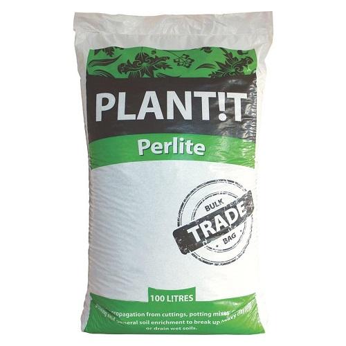 PLANT IT PERLITE 100L - substrat de mélange pour aérer les sols - idéal bouturage