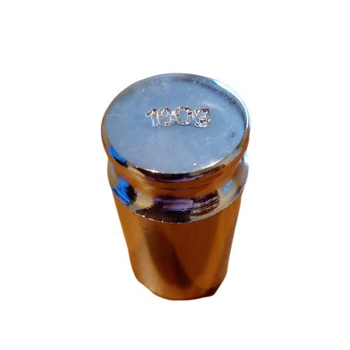 Poids de calibrage 100g en acier inox