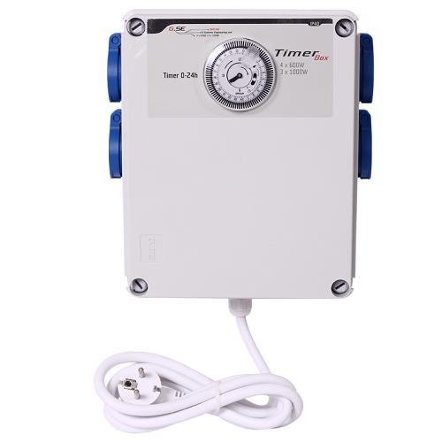 Programmateur d'éclairage 4x600W - GSE Timer Box