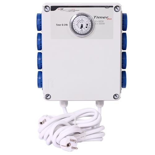 Programmateur d'éclairage 8x600W - GSE Timer Box