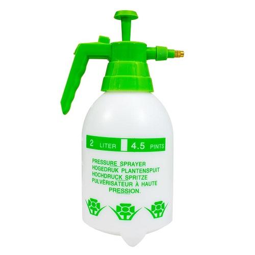 PULVERISATEUR 2L A PRESSION - 2 sprays possibles - brume ou jet