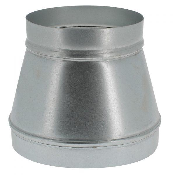 Réducteur métal diamètre 125 à 100mm