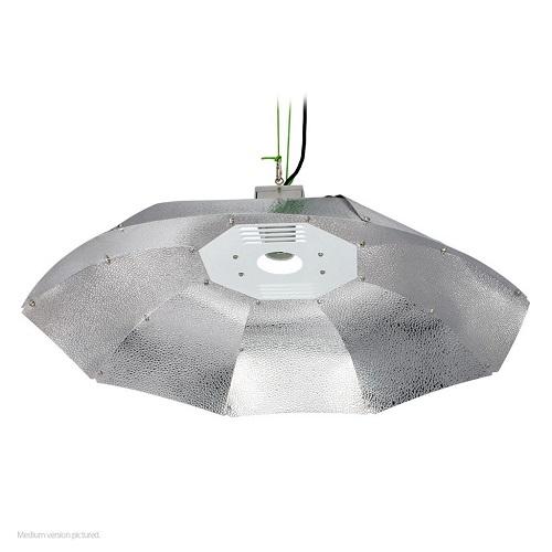 REFLECTEUR OUVERT SUNKING DIAM 1M - panneaux aluminium martelé