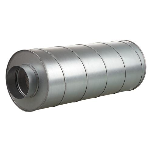 Silencieux rigide sortie 125mm - Vents