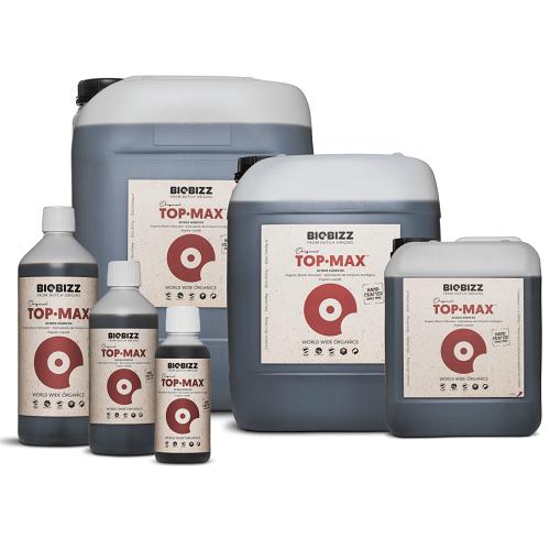 BIOBIZZ TOP MAX - booster de floraison utilisable en agriculture biologique