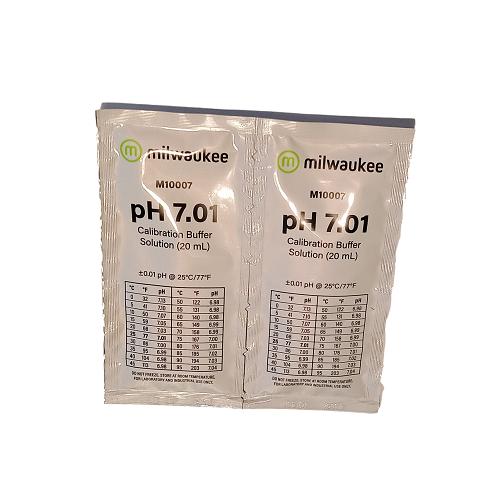 pH Buffer 7.01 Milwaukee - sachet 20ml