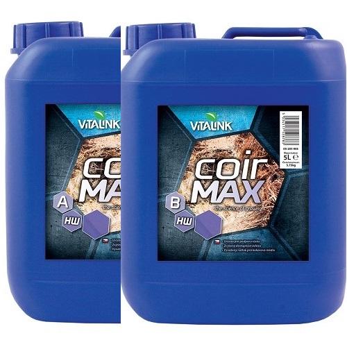 COIR MAX A+B HW 5L VITALINK - engrais liquide concentré cultures sur fibre coco eau dure