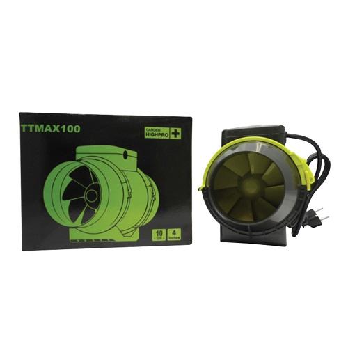 Extracteur double vitesse - TT MAX 100 - 145 et 190m3/h - Garden HIGHPRO