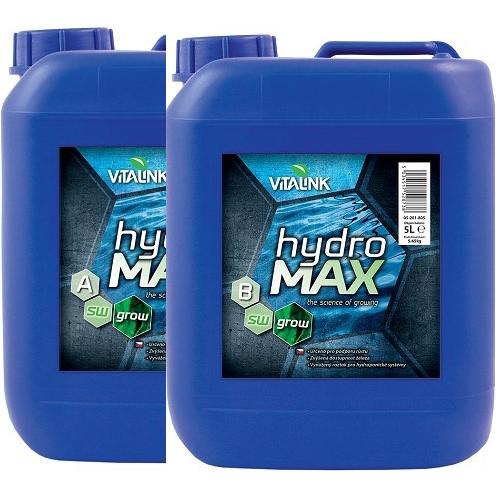 HYDRO MAX GROW A+B SW 5L VITALINK
